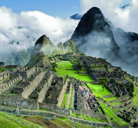 Peru and the Machupicchu